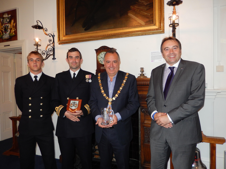 HMS Severn Captains