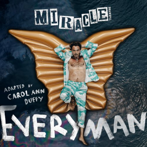 Everyman show by Miracle Theatre showing at Princess Pavilion in Falmouth, Cornwall