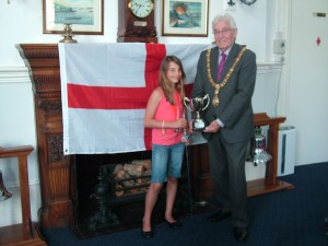 Jenny Ellis Sabre Champion 1